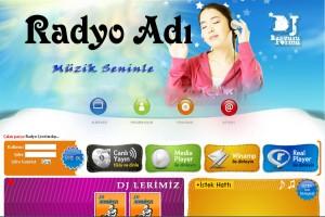 internet php radyo sitesi scripti