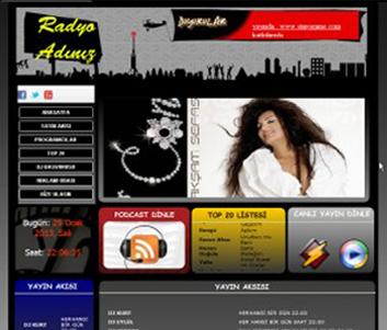 internet-radyo-sitesi-teması